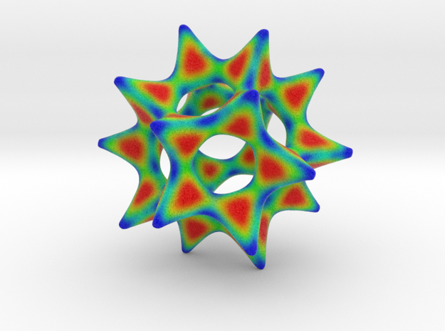Color Cool Starfish 3D