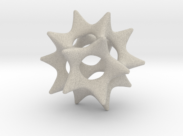 Color Cool Starfish 3D (Extra large) 3d printed