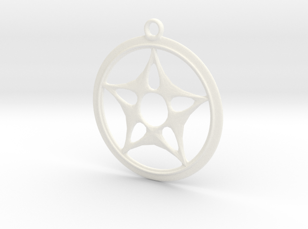 Star Design Necklace 3d printed