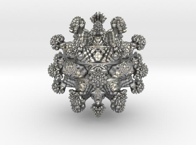 Juliabulb z^6 in Natural Silver