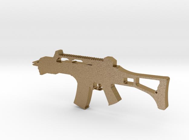 HK G36 Assault Rifle Pendant 3d printed