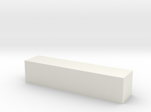 Block 4x4x18 3d printed