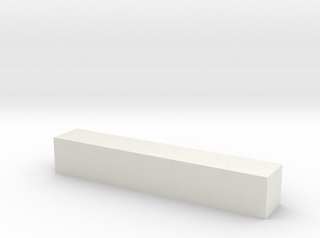 Block 2x2x12 3d printed