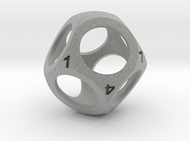 D8 Shell Dice 3d printed