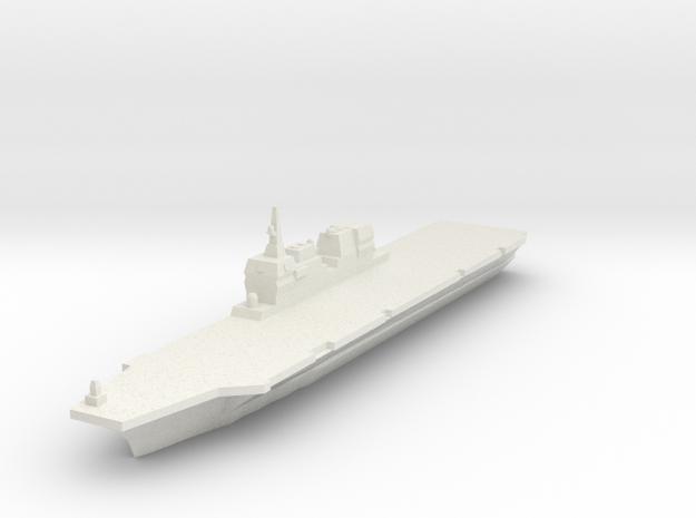 JMSDF Hyuga 1/3000 in White Natural Versatile Plastic