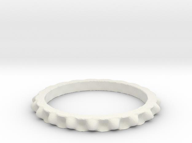 Juliabulb-z^-20-ring in White Natural Versatile Plastic