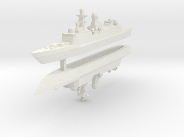 Type 054A 1:3000 x2 3d printed