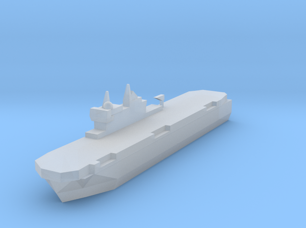 French Mistral Assault Ship 1:3000 3d printed