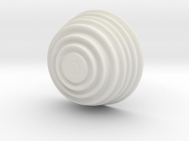 Juliaquat-z^-2 beker in White Natural Versatile Plastic