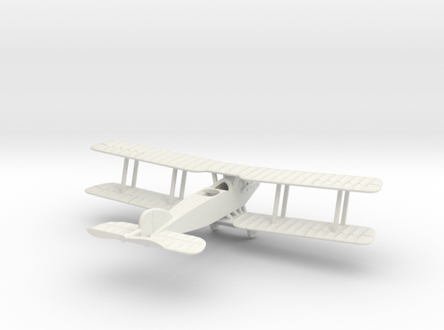 1/144 Bristol F2B in White Natural Versatile Plastic