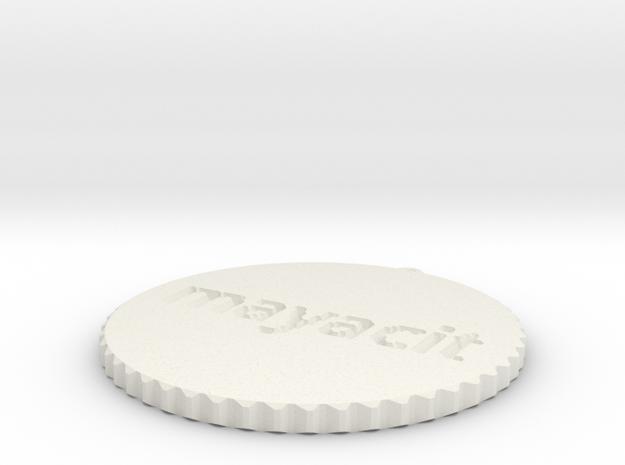 by kelecrea, engraved: mayacito in White Natural Versatile Plastic