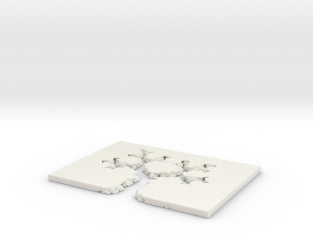 JUliabulb-sqrtz^4-newtree in White Natural Versatile Plastic
