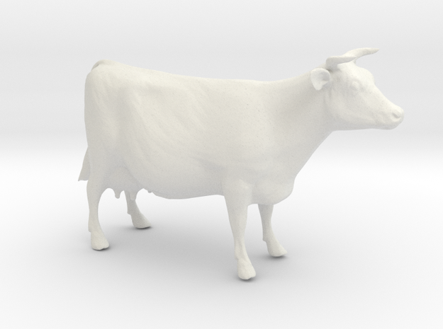 My favorite cow (smaller) 3d printed