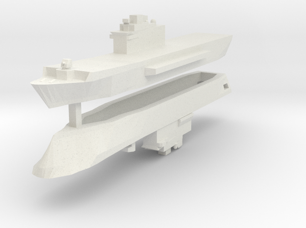 San Giorgio Class 1:3000 x2 3d printed