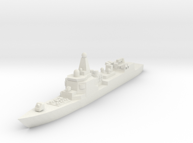 052 PLAN Destroyer 1:2400 x1 in White Natural Versatile Plastic