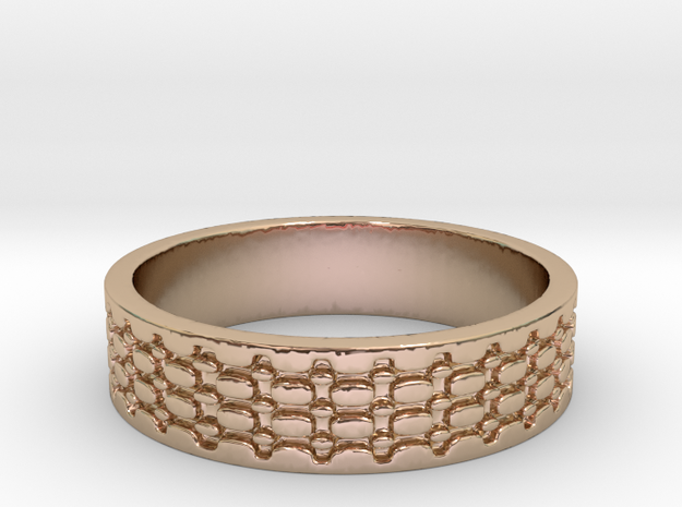 Beads #7.25 (Size 7.25) in 14k Rose Gold