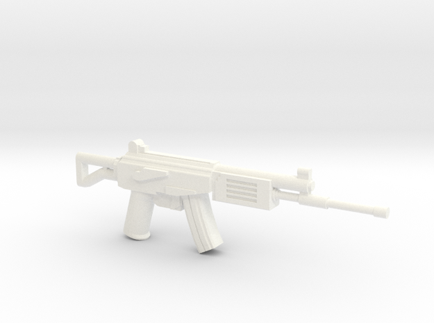 Galil in White Strong & Flexible Polished