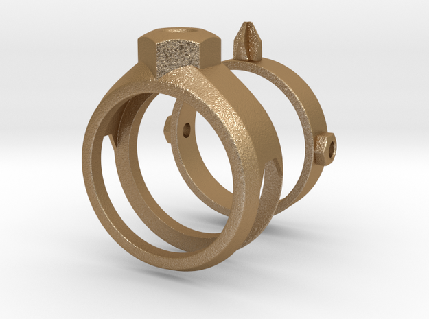 Screwdriver Ring 3d printed