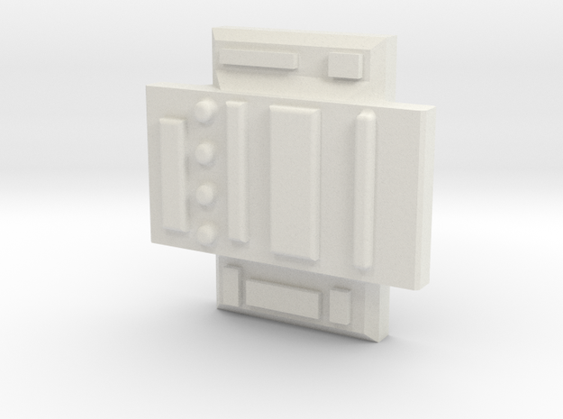 Colonial Defender Cross Piece in White Strong & Flexible
