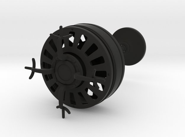Vintage Ceiling Fan 3d printed