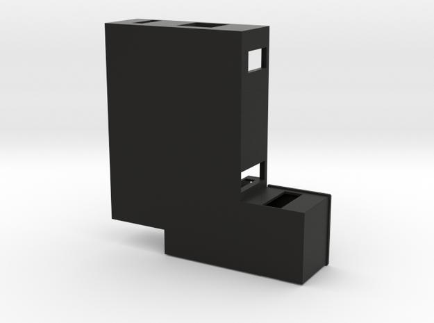 Plattegrond van een begane grond 3d printed