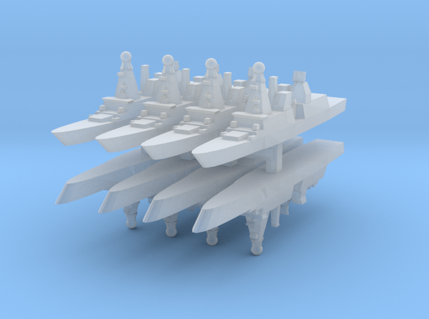Horizon CNGF 1:6000 x8 3d printed