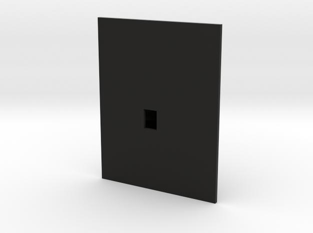 Plattegrond van een zolder 3d printed