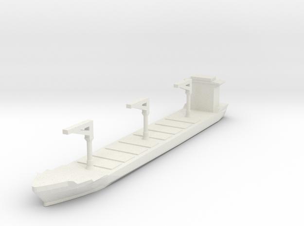 Xiamen Container Ship 1:3000 in White Natural Versatile Plastic