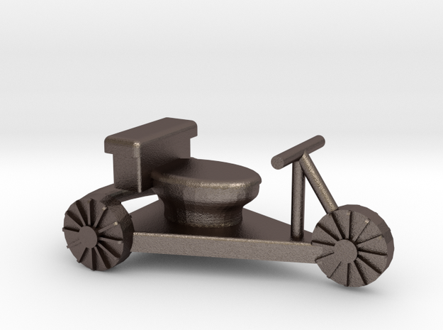toilet racer cart - Hampdenfest! 3d printed