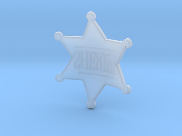 Sheriff Badge Prop 3d printed