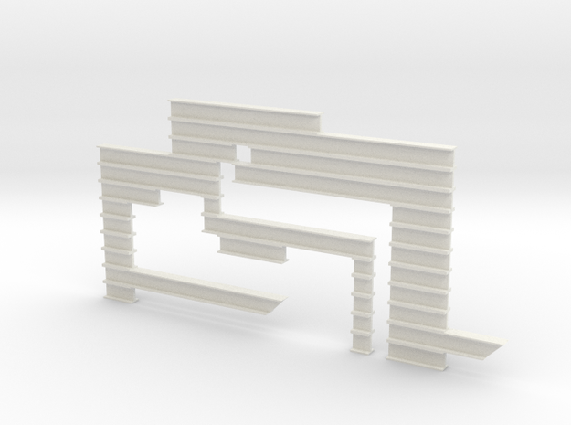I-beam Sculpture 3d printed