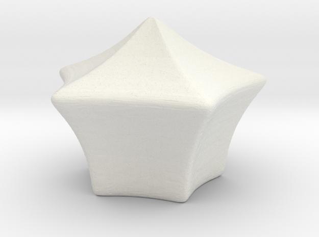 negative 3 standing wave in White Natural Versatile Plastic