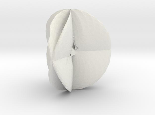 Soliton of Palais in White Natural Versatile Plastic