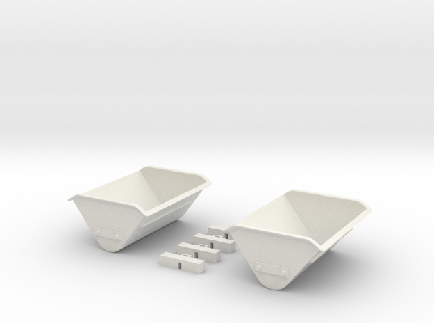 Lorenumbausatz 1:45 in White Natural Versatile Plastic