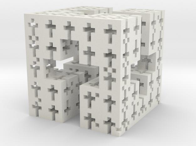 C-Cross Menger in White Natural Versatile Plastic