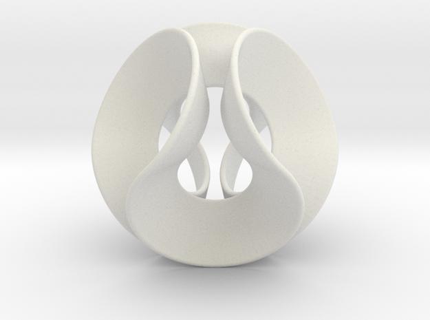 Lobke (Medium) in White Natural Versatile Plastic