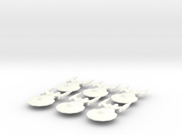 Garamond Class Attack Fleet (modified) 3d printed