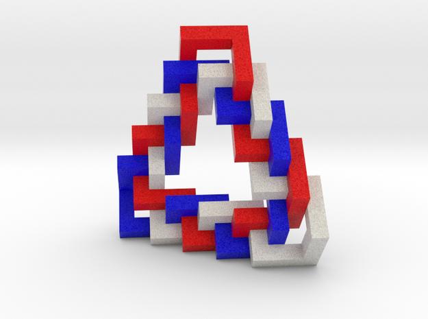 Triangular Braid 3d printed