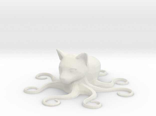 Octocat, solid 3d printed