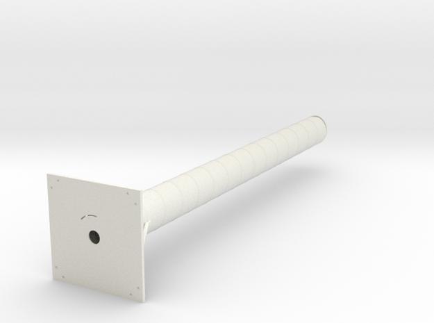 Rover / Ground station, 2.4GHz antena in White Natural Versatile Plastic