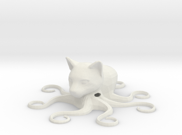 Octocat, hollow 3d printed