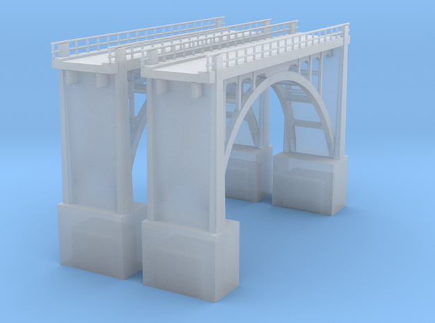 Arched Bridge 64' high 190ft 3d printed
