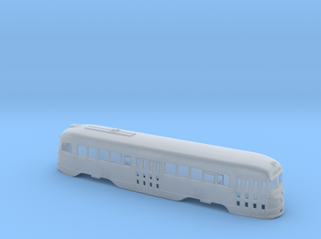 HO Prewar PCC-TTC 4000 series (for ConCor) in Smooth Fine Detail Plastic