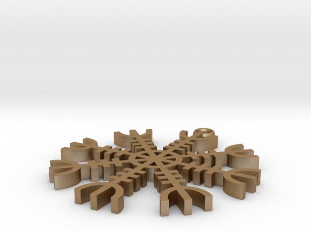 aegishjalmur 3d printed