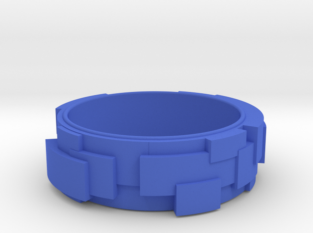 Block Ring 3d printed