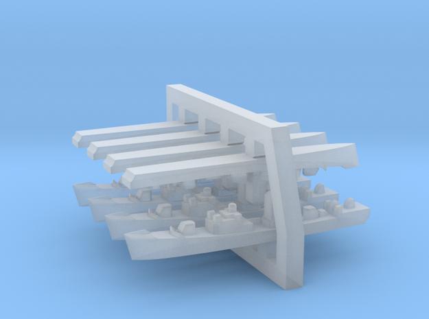 60SS02a 1:6000 Mirka+Petya Soviet FFL with mast (4 in Smooth Fine Detail Plastic