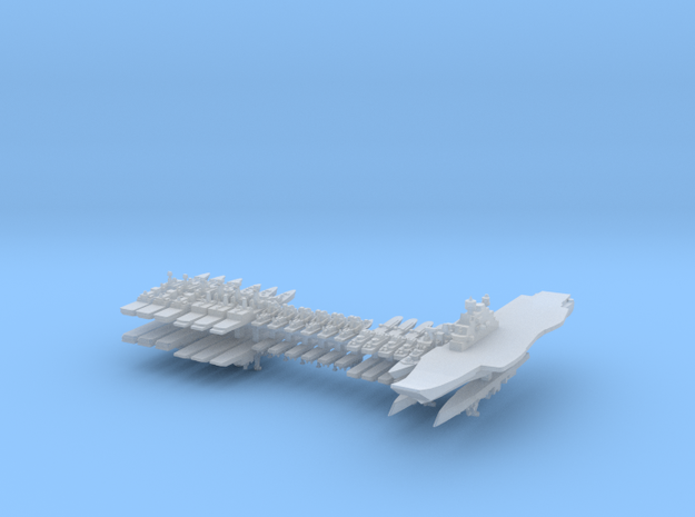 INS Fleet 1:6000 (36 ships) in Smooth Fine Detail Plastic