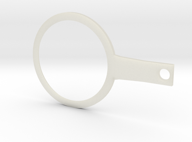 Lever for 4cm ping pong ball (movable puppet eye) 3d printed