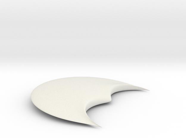Night Wing in White Natural Versatile Plastic