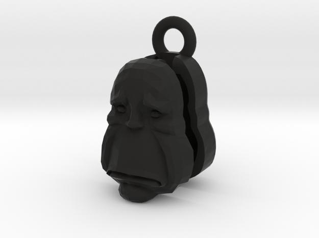 Pear Head -Locket v2b 3d printed